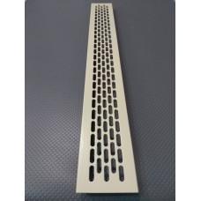 Алюмінієва решітка 480*60мм колір RAL1015